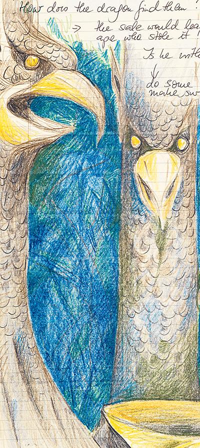 Illustration von Cornelia Funke